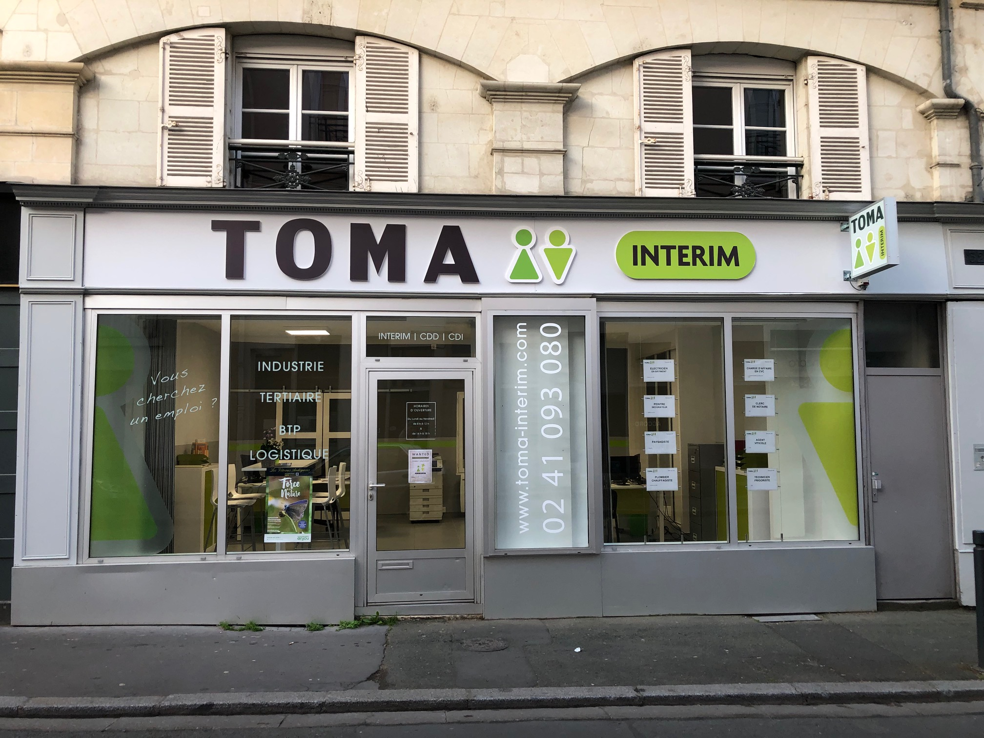 Agence Toma Intérim Angers
